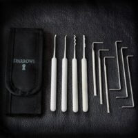 Beginner lockpick set van Sparrows vind je in het online lockpick assortiment van Lockpickwebwinkl