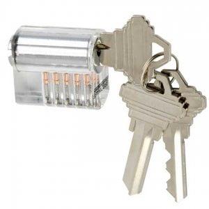Brockhage-Transparant-Lockpick-Oefenslot-Beveiligingspinnen-CPL5+