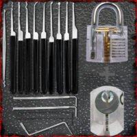 Actie Aanbieding van de LPXS-15 Lockpick Set samen met twee oefensloten