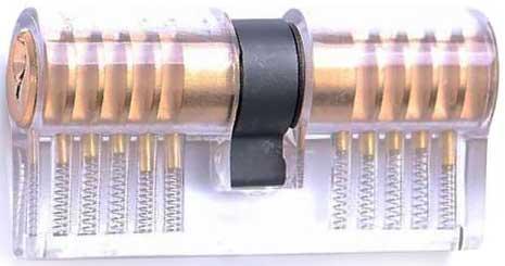 Doorzichtig-cilinderslot