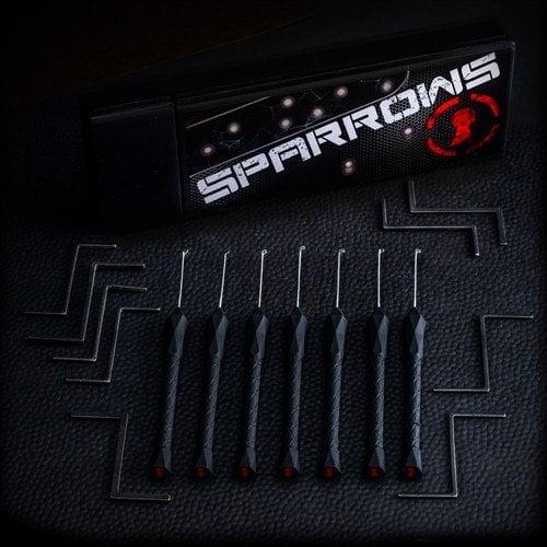 Lockpick set voor dimple locks van het merk Sparrows en andere lockpicking tools bestel je online bij Lockpickwebwinkel.nl