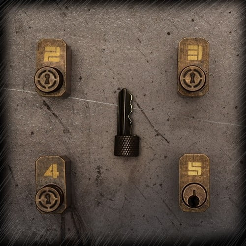 Sparrows Progressieve Lockpick Oefensloten set