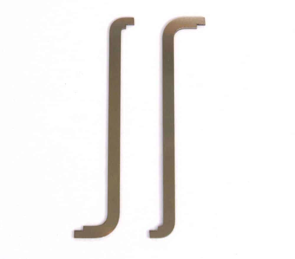 Top of Keyway Tension wrench