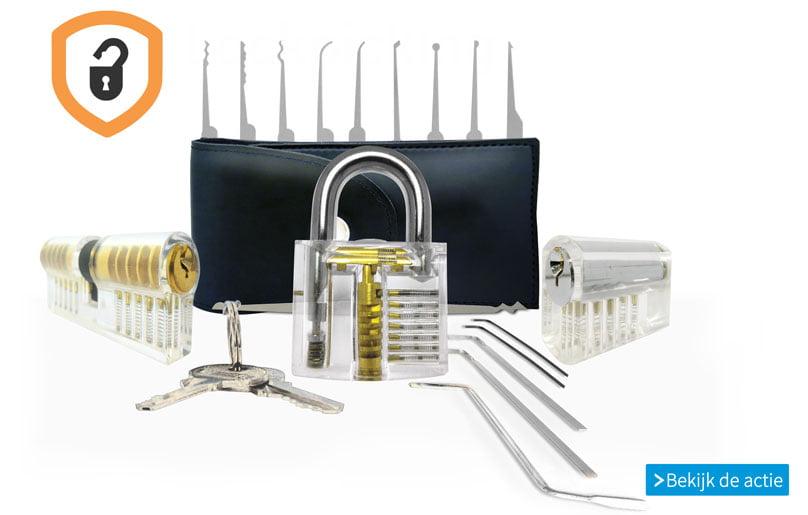 Lockpicking leren met de lockpick aanbieding van Lockpickinguniversiteit