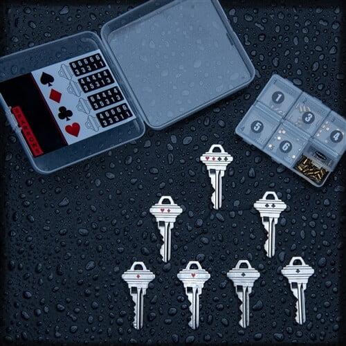 Master Key Pinning kit van Sparrows te koop bij Lockpickwebwinkel