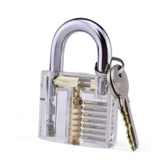 Hangslot voor lockpicking koop je met een lockpick set bij Lockpickwebwinkel