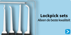 Lockpick sets koop je online bij in de Lockpick speciaalzaak van Nederland Lockpickwebwinkel.nl