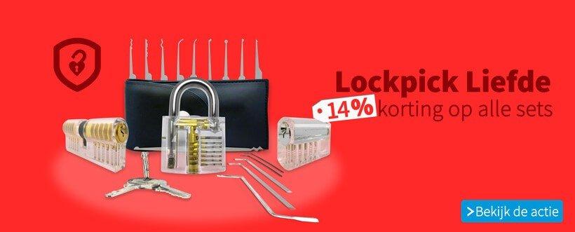 Open je liefde voor lockpick sets met Lockpickvalentijn 14% kortingscode