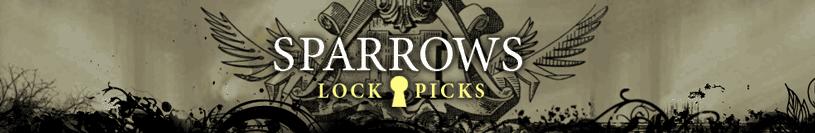 Bestel een lockpick set van Sparrows bij Lockpickwebwinkel.nl