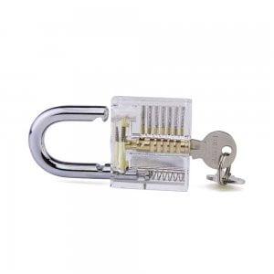 Transparant-Hangslot-voor-lockpicking
