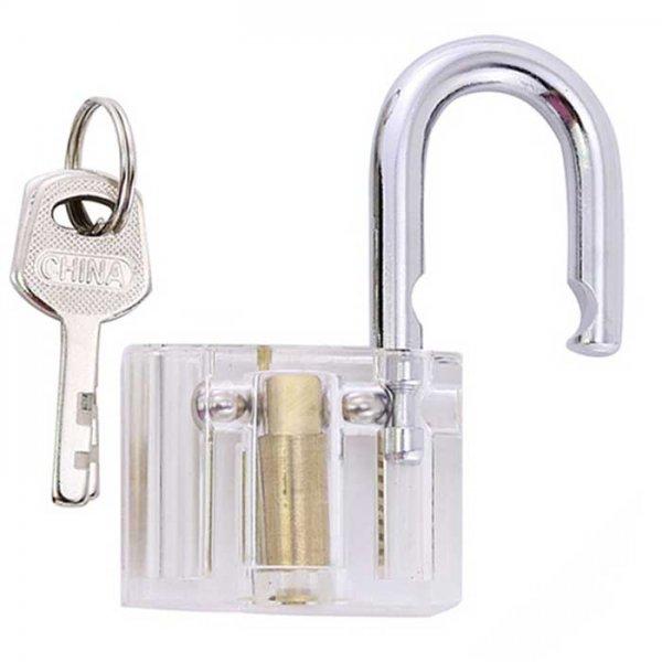Oefenslot-Warded-Hangslot-open-met-unieke-sleutels