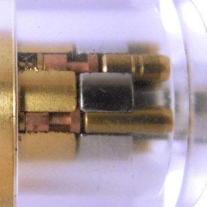 Spool-Pinnen-Radiaalslot