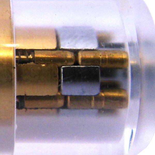 Standaard-pinnen-radiaalslot