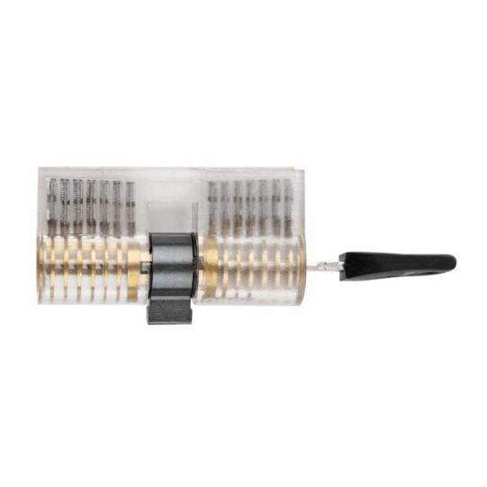 cilinderslot met deukjes in sleutel