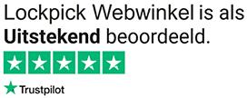 LockpickWebwinkel.nl is Uitstekend beoordeeld volgens onze klanten - Trustpilot