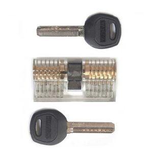 Cilinderslot met dimple lock profiel