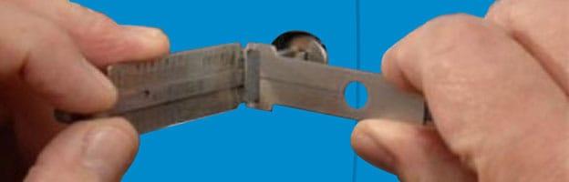 Lishi lockpick decoder gebruiken