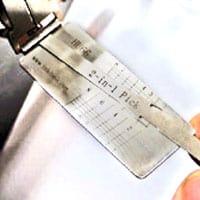 Lishi lockpick positie 1