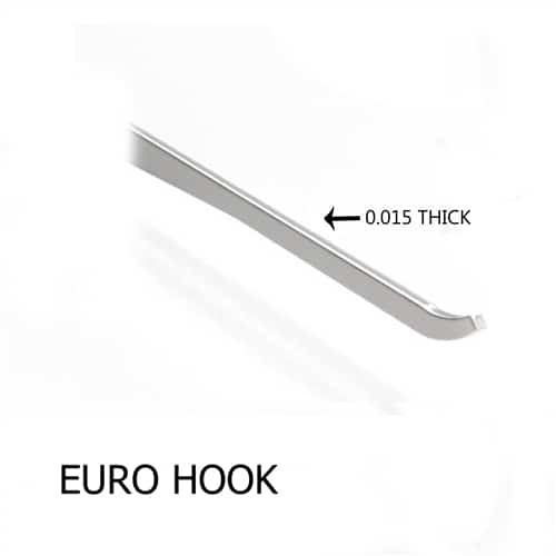 Sparrows Euro Hook .015""