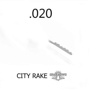 Sparrows City Rake .020""