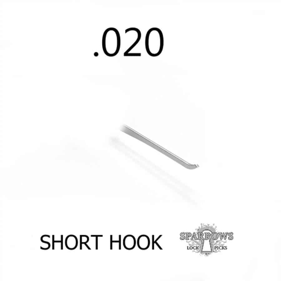Sparrows Short Hook .020""