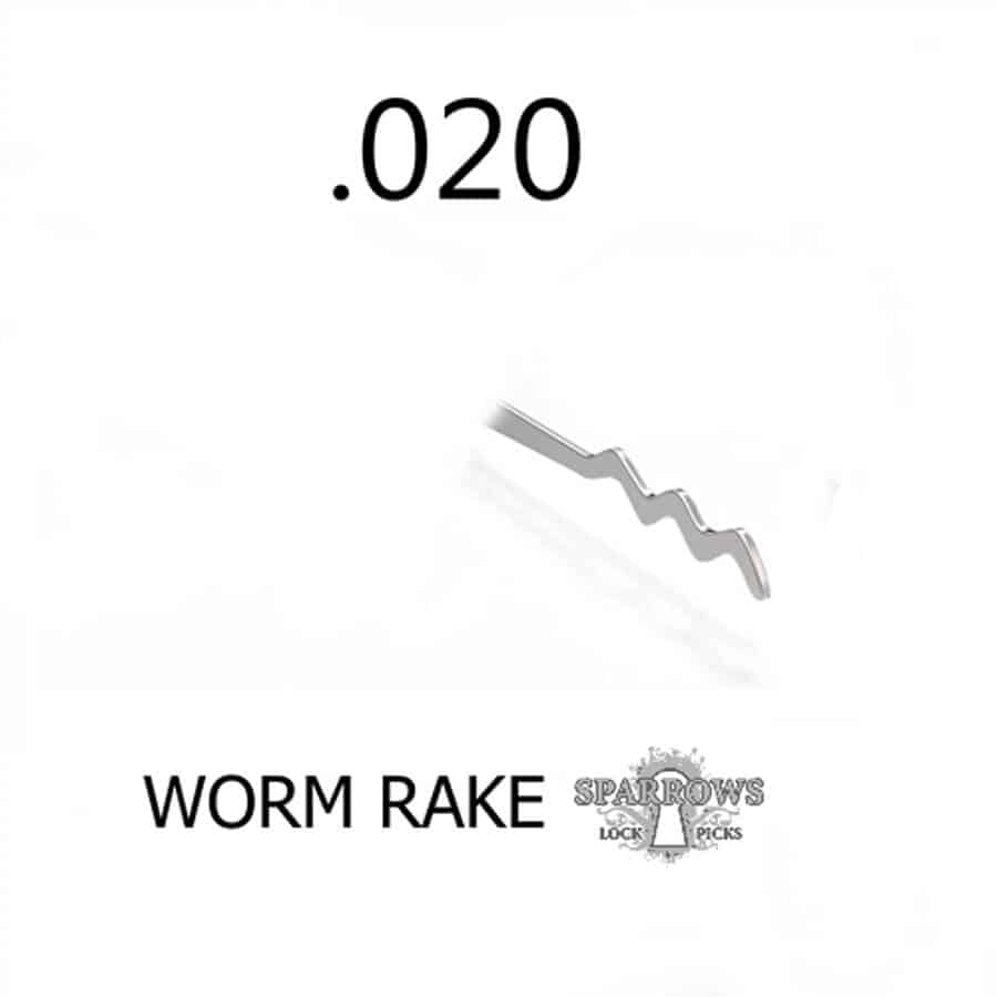 Sparrows Worm Rake .020