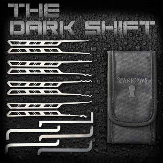 Sparrows Dark shift lockpick set
