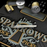 Sparrows Pinning Pincet 90mm