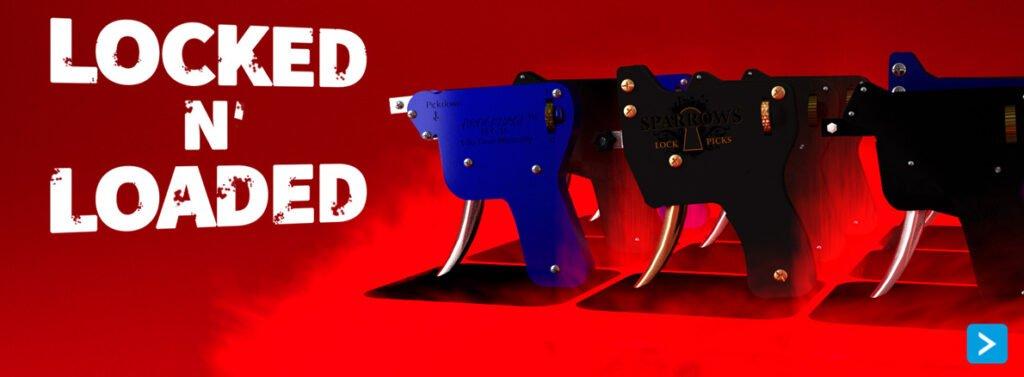 Lockpick guns bij Lockpickwebwinkel.nl