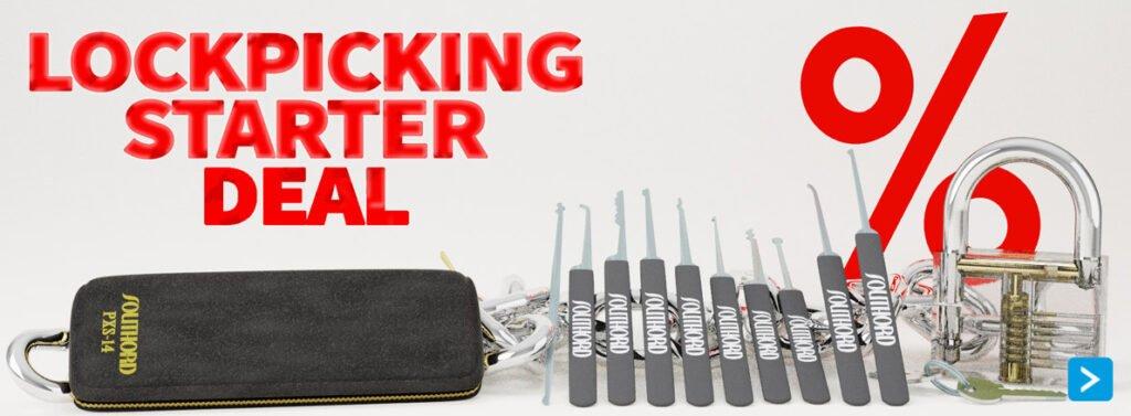 Lockpick set bestellen met hoge korting