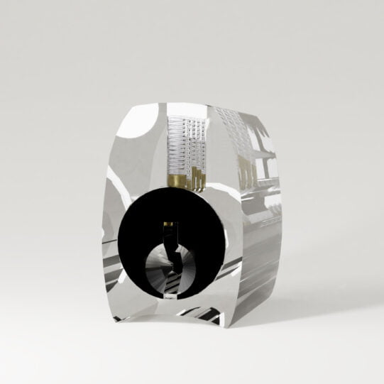 Transparant lockpick slot Spool