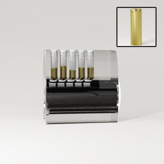 Doorzichtig cilinderslot