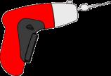 Electrische lockpick gun van Klom